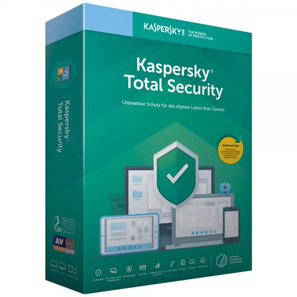 KASPERSKY TOTAL SECURITY 2020 - 1 GERÄT - 1 JAHR
