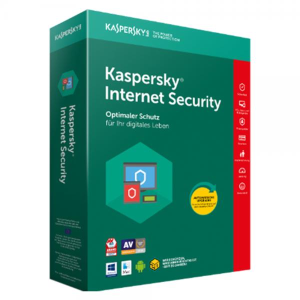 KASPERSKY INTERNET SECURITY 2020 - 1 GERÄT - 1 JAHR