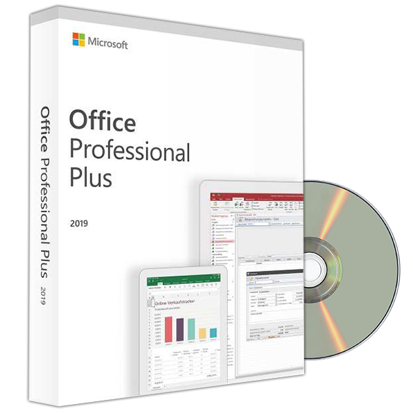 OFFICE 2019 PROFESSIONAL PLUS DVD